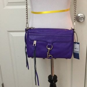 Rebecca Minkoff mini Mac NWT rare color!
